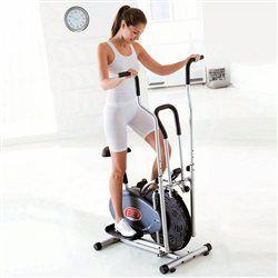 Vélo elliptique mécanique 2 en 1 Orbit Gym