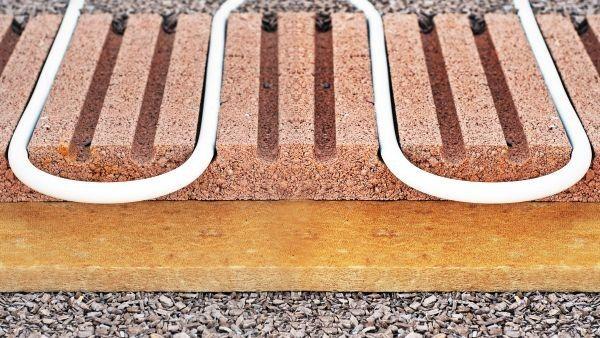 Fussbodenheizung Mit Komplett Trockenem Bodenaufbau Wir Klaren Auf Fussbodenheizung Fussboden Heizung