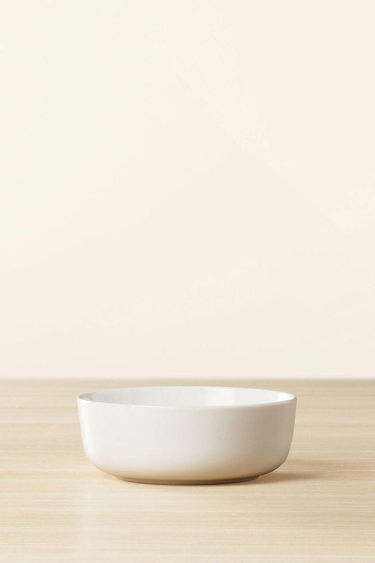 Marimekko Oiva Medium Bowl 4 DL White