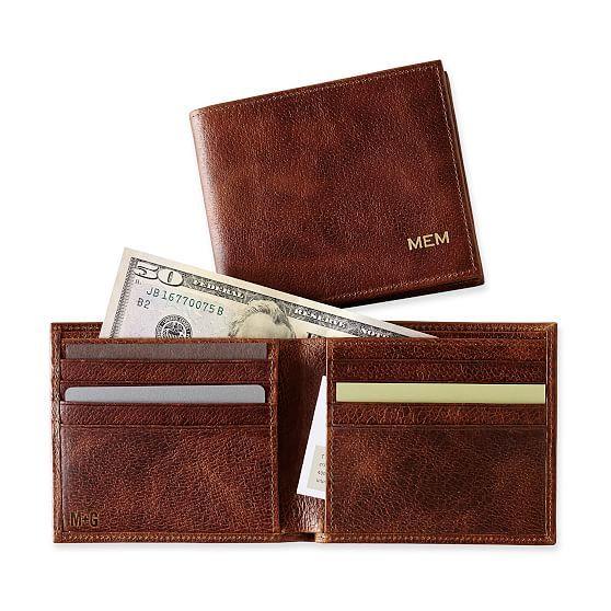 Leather Slimfold Wallet - EVERYONE XLII by VIDA VIDA wJjM8rP