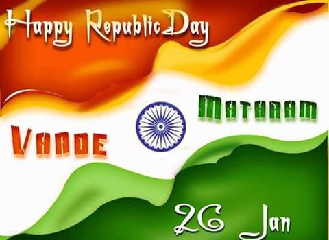 Latest REPUBLIC DAY WISHES FOR WHATSAPP 2017   Republic Day Wishes 2017 : Happy republic day wishes forwhatsapp Facebook Instagram Pinterest. Hello friends today me share some pics forRepublic Day Wishes Which comes on 26th of January every year. It's celebrated for constitutional move of india. After independent a fresh constitution written and be prepared and launch on 26 January 1951. So this day celebrated asrepublic dayin India. We share some images wishes in Hindi and English for…