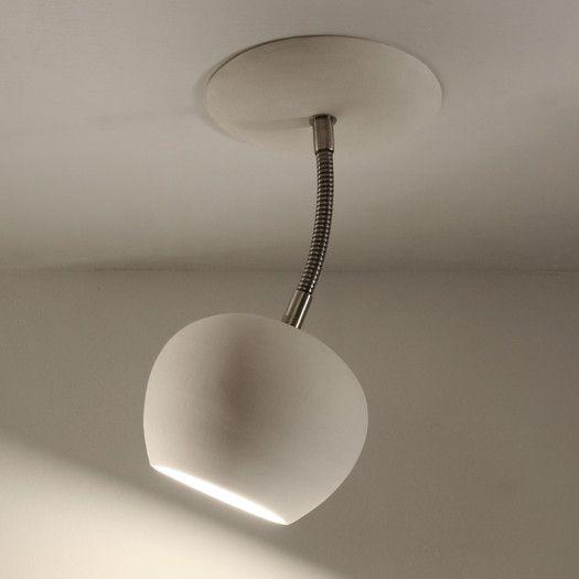 Lightexture Claylight 1 Light Ceiling Spotlight