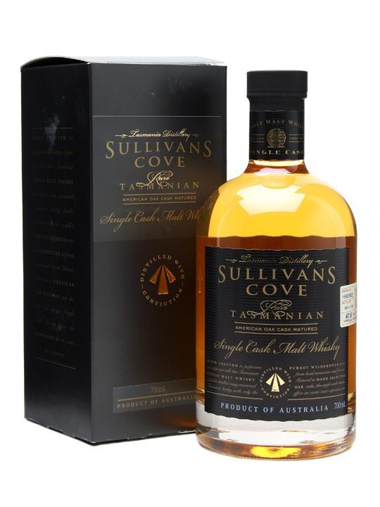 Sullivan's Cove Bourbon Cask Whisky / Single Cask : Buy Online - The Whisky Exchange
