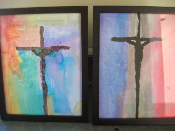 Campfires and Cleats: 7 DIY Lenten Crafts & Books ~ Wreaths, Crown of Thorns, Mercy Crosses, Crucifixion Art, Books~ Artful Friday Lenten Blog Carnival {with linky}