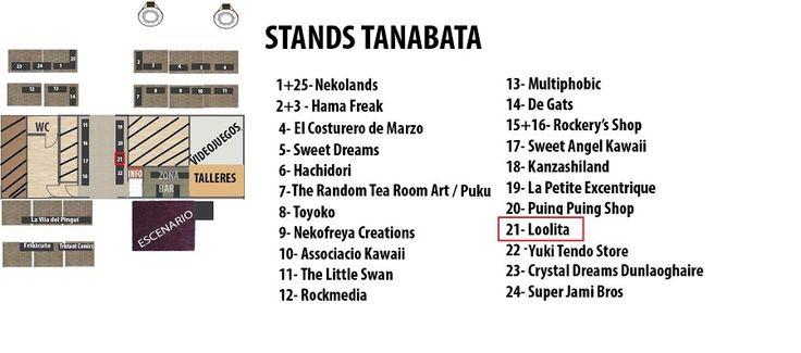 listado stands tanabata