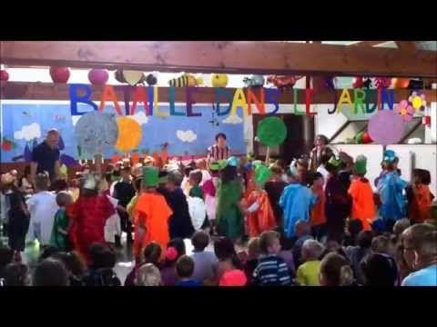 Spectacle danse du jardin - YouTube