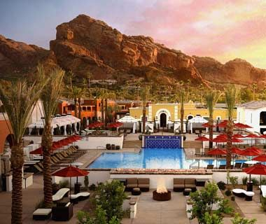 Intercontinental Montelucia Resort & Spa, Scottsdale, Arizona -  a surprise getaway. It was absolutely beautiful.