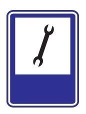 Estas señales en su mayoría son en forma de rectángulo con marco de color azul y fondo blanco, y símbolos negros. Su función es la de gui...