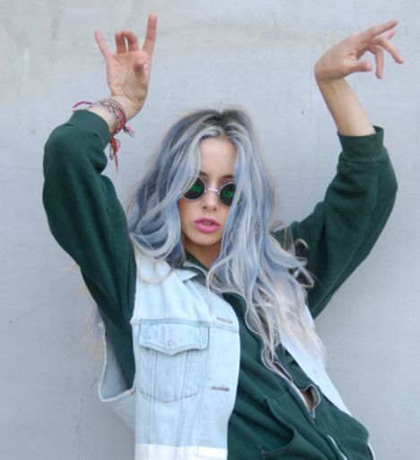 Pastel Hair. 90s Vibe. Coven. Love. Grunge.