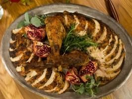 """Herbes de Provence Turkey (Thanksgiving!) - Tia Mowry, """"Tia At Home"""" on the Cooking Channel."""