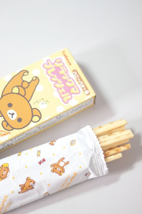 ♥ P O C K Y!! ♥ delicous japanese snack~☆Rilakkuma pocky & packaging. . .kawaii