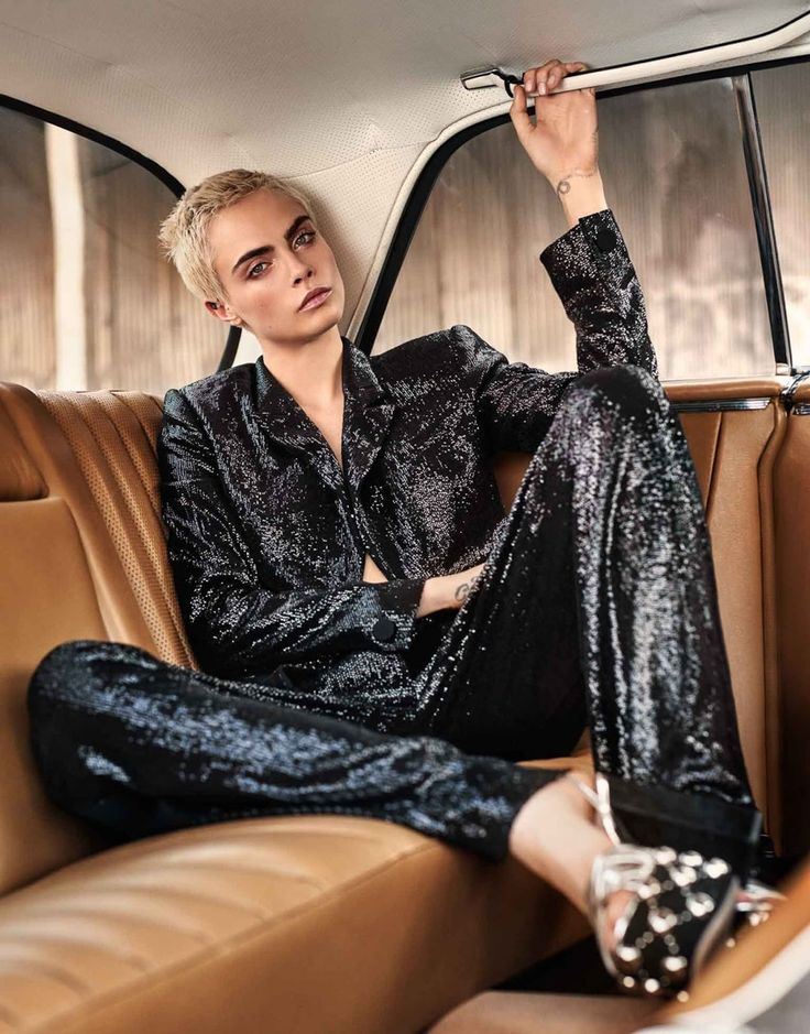 Photography: Alexandra Nataf. Styled by: Ilona Hamer. Hair: Mara Roszak. Makeup: Molly Stern. Model: Cara Delevingne