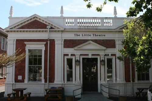Cape Town University's Little Theatre  In its quiet hours report hearing someone playing the piano; perhaps, it's the spirit of an actress who died in the theatre's green room, unwilling to stop performing.