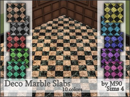 Marble Slabs In 10 Colors By Mircia90 Found In Tsr Category Sims 4 Floors Marble Slab Slab Sims 4