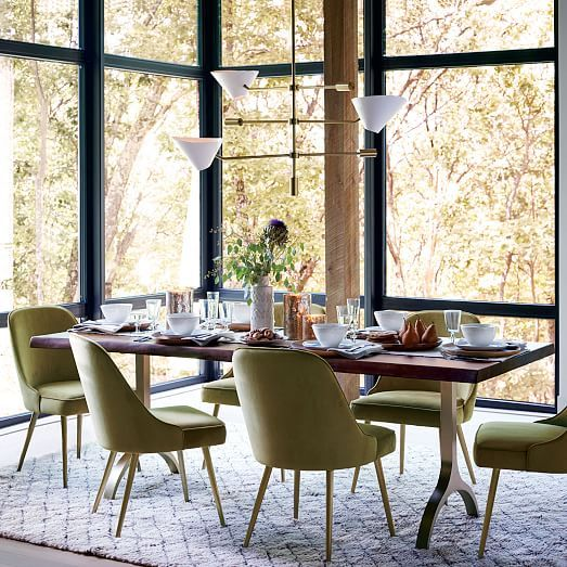 1000 Ideas About Trestle Dining Tables On Pinterest Diy