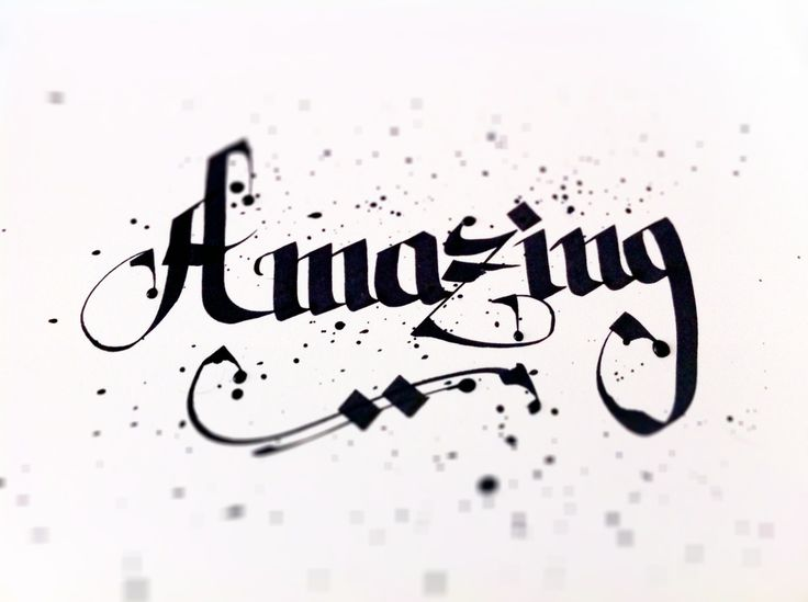 Amazing - Word of the day   #calligraphie #calligraffiti #kalligraphie #kalligraffiti #kalligraphie #graffiti #script #handemade #handlettering #handwriter #lettering #letterdesign #type #typedesign #typo #typodesign #typografie #typographie #font #fontdesign #schrift #schriftdesign #graphix #grafik #grafikdesign #design #graphixdesign #art #kunst #dus #dusseldorf #duesseldorf #fln #flingern #bureau #buero #designbuero #designbureau #wordoftheday #amazing #xyzettgraphix   xyzettgraphix…
