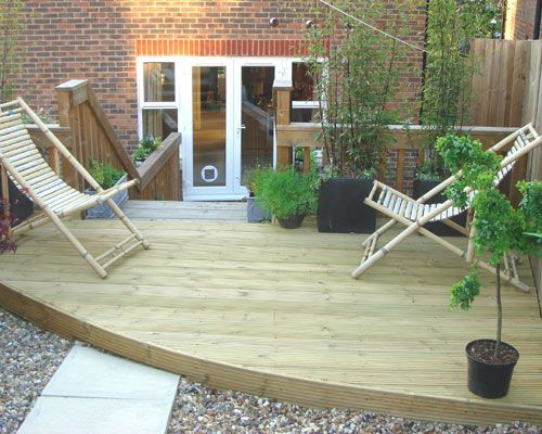 16 best images about garden decking designs and ideas on for Garden decking ideas pinterest