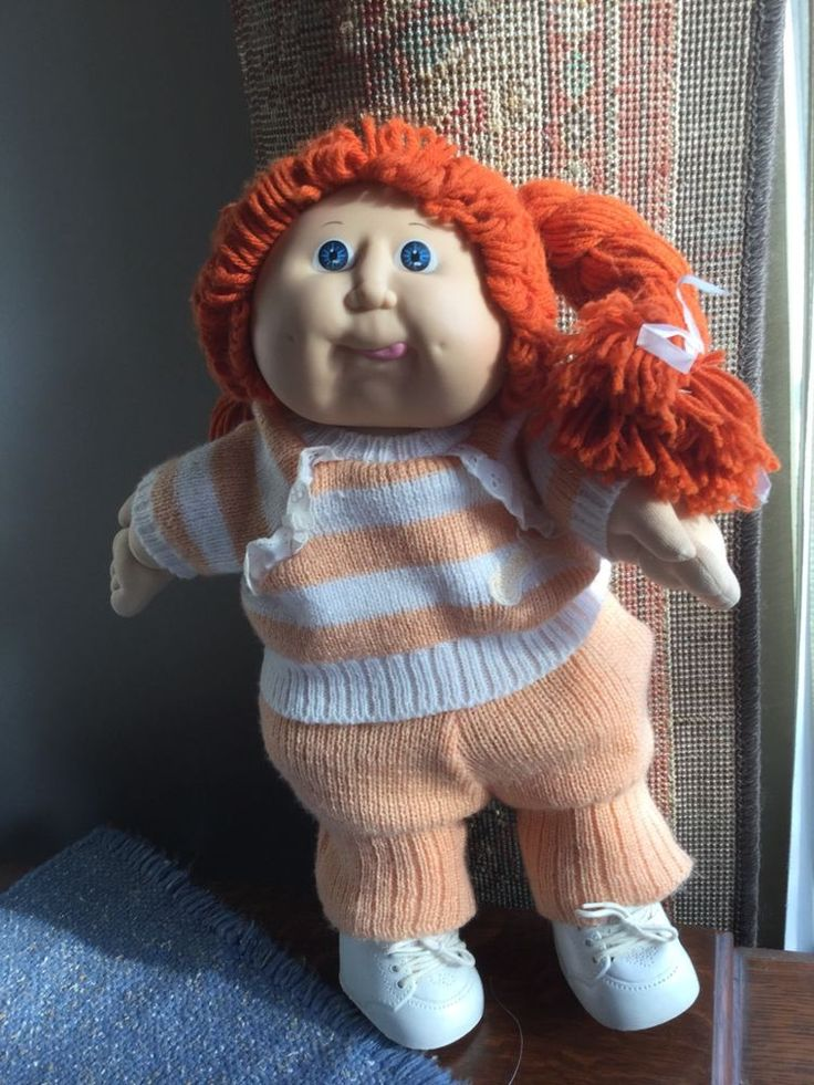 Cabbage patch kid 1986 with red hair