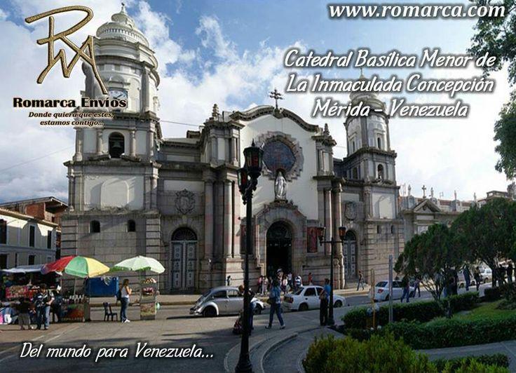 La Catedral Basílica Menor de la Inmaculada Concepción es un edificio religioso de la Iglesia católica localizado en la ciudad de Mérida, Venezuela. Está formada por una planta en forma de cruz latina, con cinco naves y una gran cúpula. En la nave central su techo es de dos aguas y los laterales están cubiertos por bóvedas y seis cúpulas pequeñas. El rosetón que se encuentra al fondo de la nave central es un escudo de la ciudad de Mérida, conmemorativo de los cuatrocientos años de su…