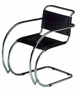 Bauhaus Stuhl - Cantilever Chair - Entwurf Mies van de Rohe