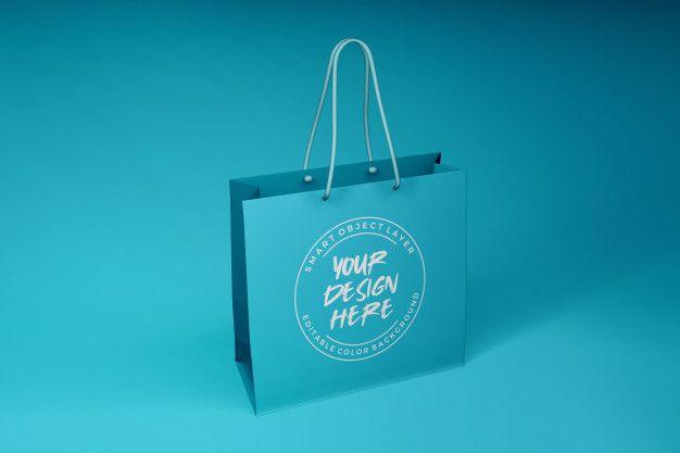 Download Gift Bag Mockup Bag Mockup Mockup Template Packaging Mockup