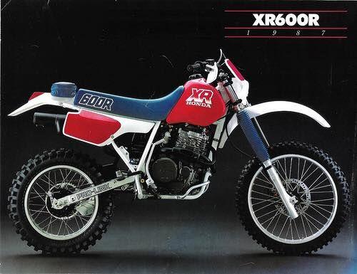 1988- Honda XR600R