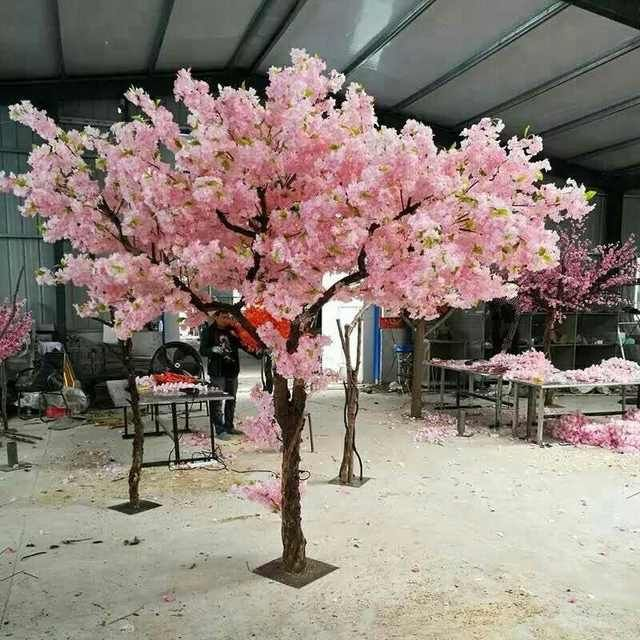 Source 5ft Pink Blossom Tree Centerpiece For Wedding Event On M Alibaba Com Artificial Cherry Blossom Tree Pink Blossom Tree Blossom Trees