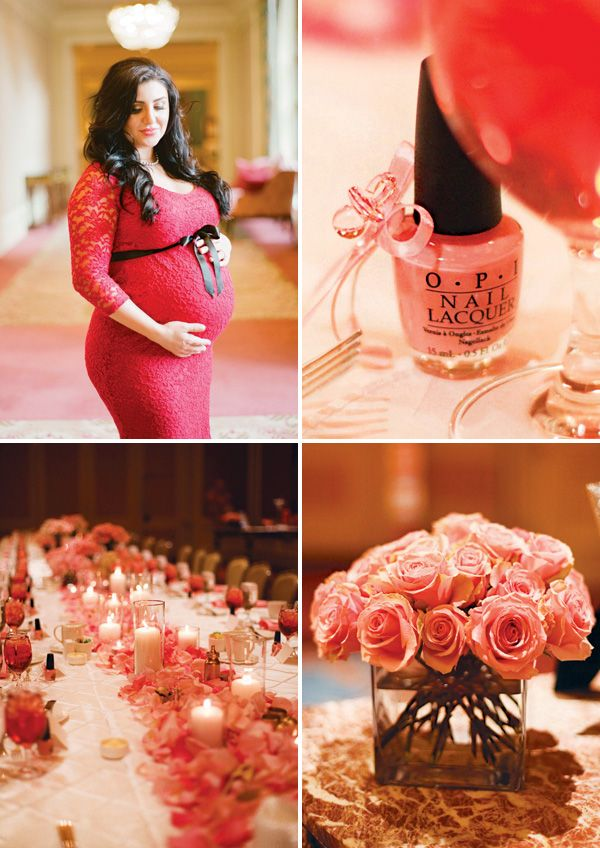 Formal & Elegant Pretty in Pink Baby Shower