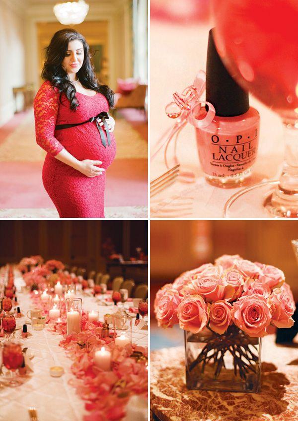Formal & Elegant Pretty in Pink Baby Shower