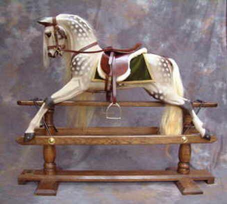 255 Best Antique Rocking Horses Images On Pinterest Old