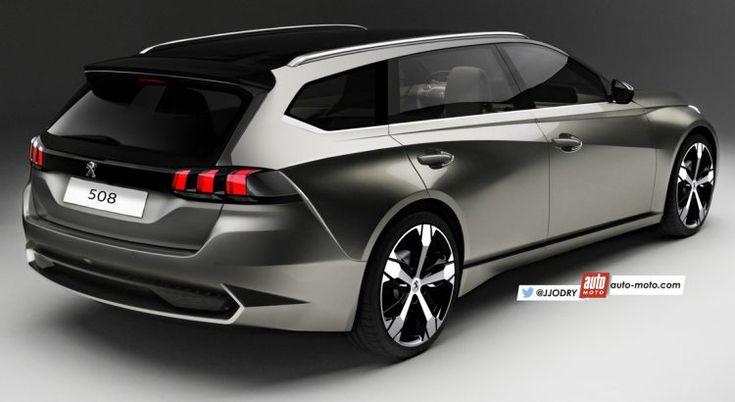 Future Peugeot 508 (2018) : Plus courte, mais aux idées larges - Automoto, magazine auto et moto