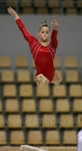 alicia sacramone-she was fabulous when I saw her at the Olympic trials. I want to do gymnastics again.