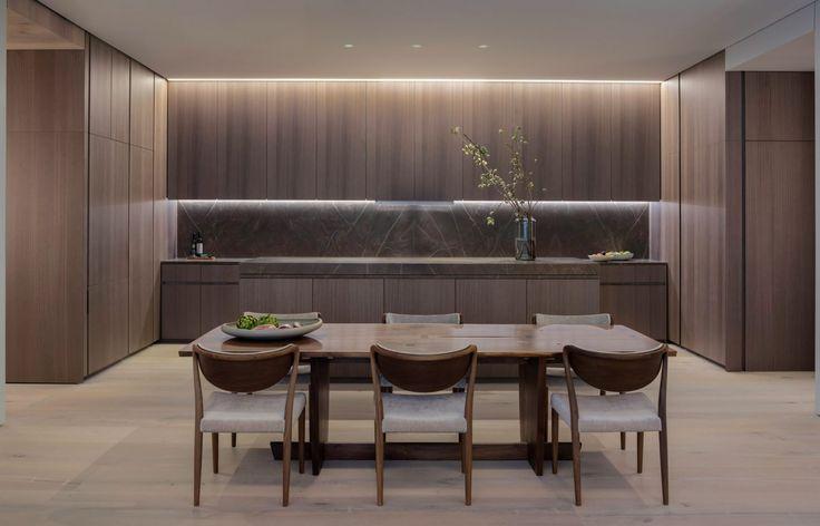 First apartment in Tadao Ando's 152 Elizabeth Street revealed    Cozinha - ESPETACULAR!!!