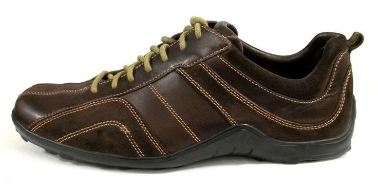 Cole Haan Athletic Sneaker Brown Leather Tennis Shoes Mens Size 11 ...