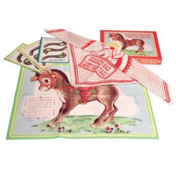 Vintage Donkey Tail Game