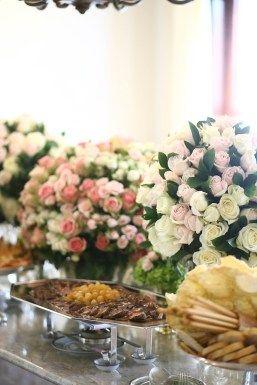 Buffet do casamento civil da Lalá Noleto