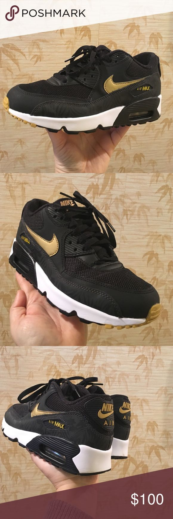 Sold out in stores !!!!  Nike air max Used one day just like new size 8 women's 6 1/2 boys true to size Nike Shoes Athletic Shoes