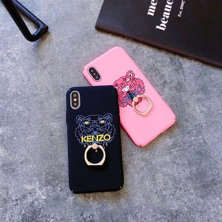 bbc979b6fd ブランド ケンゾー iphonexハードケース KENZO iphone8 iphone7plus カバー リング付き スタンド機能 落下防止