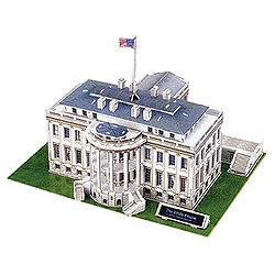 3-D White House Puzzle      Was: $15.00  Now: $9.97: White Houses, House Puzzles, Products