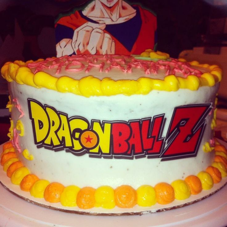 38 best dragonball z images on pinterest | desserts, birthday