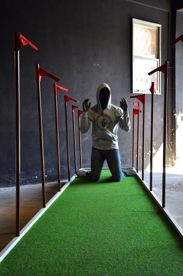 Biennale 2015: Doug Fishbone's Leisure Land Golf