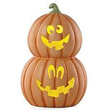 image of Lenox® Halloween Stacked Pumpkin Lighted Sculpture