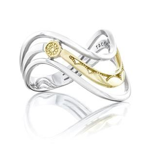 TACORI Sterling Silver GOLD AND SILVER Rings SR218 #ArthursJewelers