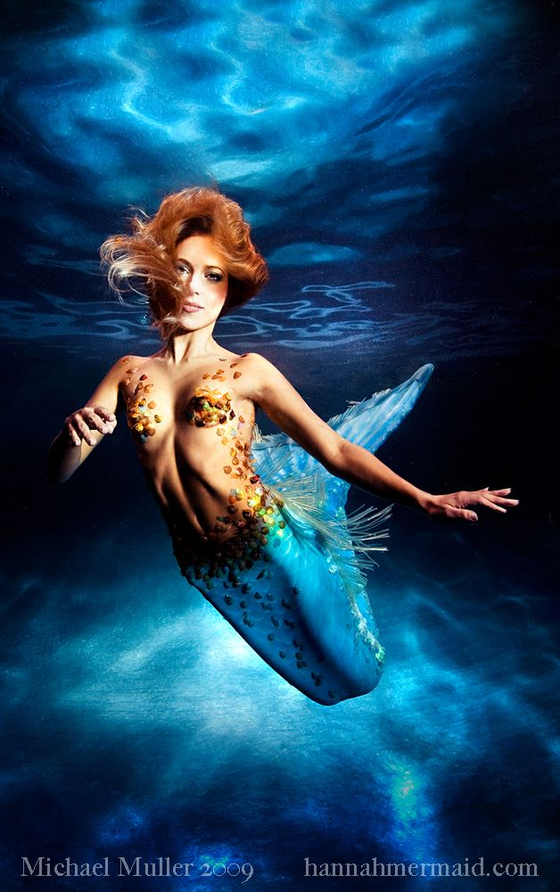 Hannah Fraser aka Hannah Mermaid photo by Michael Muller