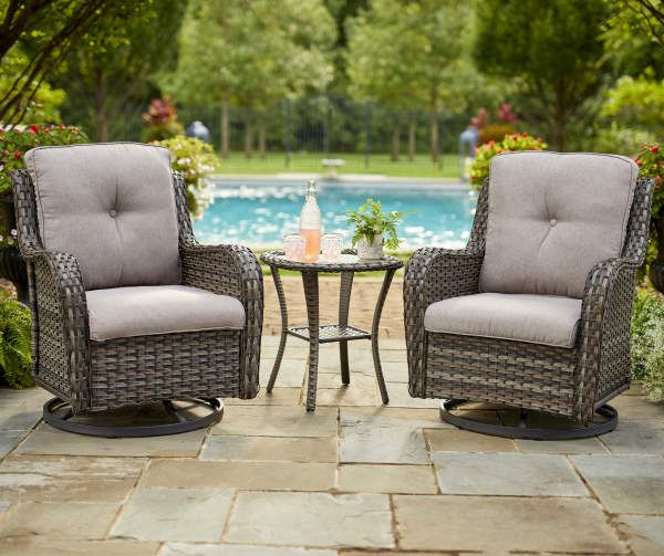 Patio Seating Sets, Outdoor Glider Chair Set