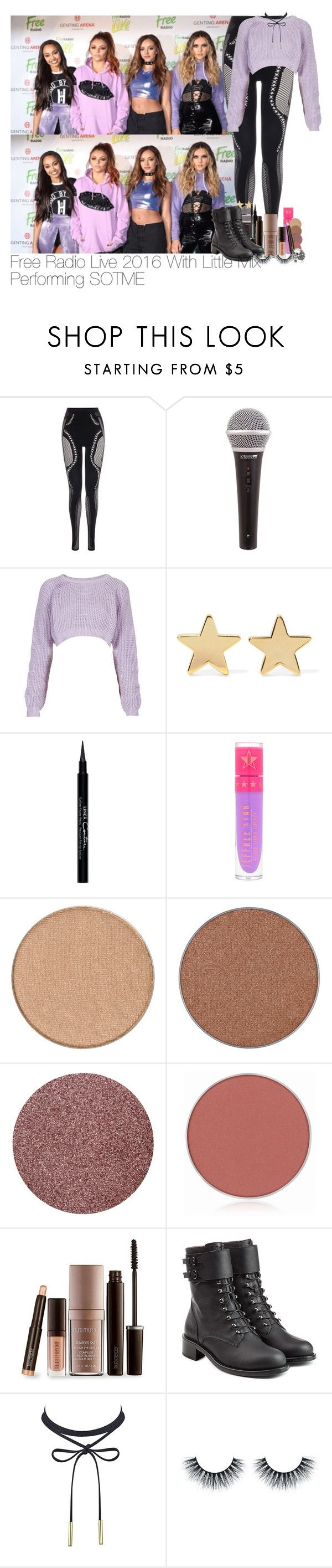 """Free Radio Live 2016 With Little Mix Performing SOTME"" by lauren-beth-owens ❤ liked on Polyvore featuring McQ by Alexander McQueen, The Ragged Priest, Jennifer Meyer Jewelry, Givenchy, Jeffree Star, Anastasia Beverly Hills, Laura Mercier, Philosophy di Lorenzo Serafini, Ugo Cacciatori and littlemix"
