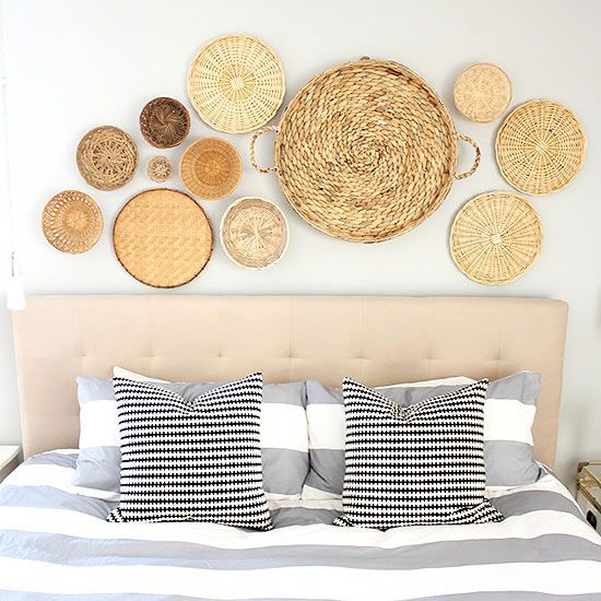 Baskets As Wall Art