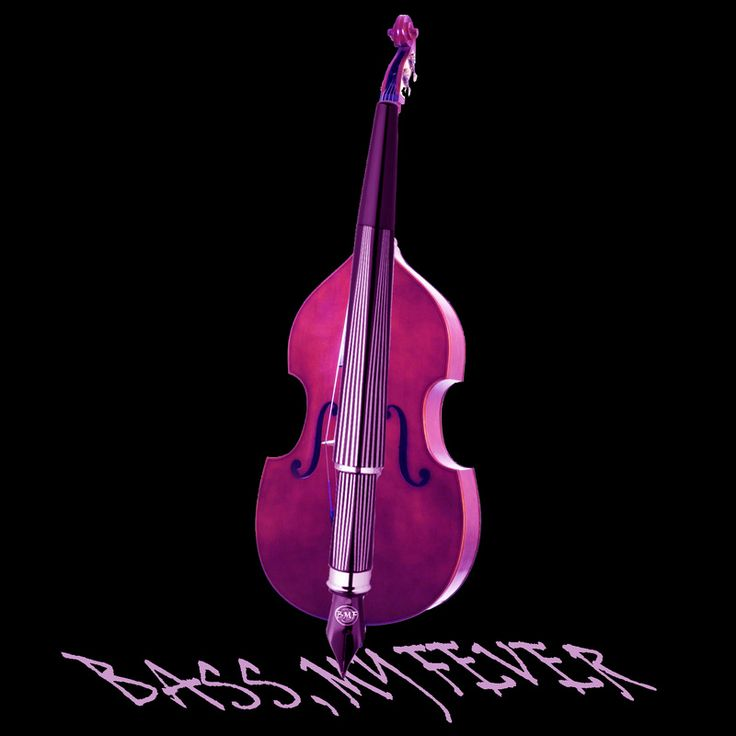 A collection of pictures and art portraits focused on electric and upright  acoustic basses