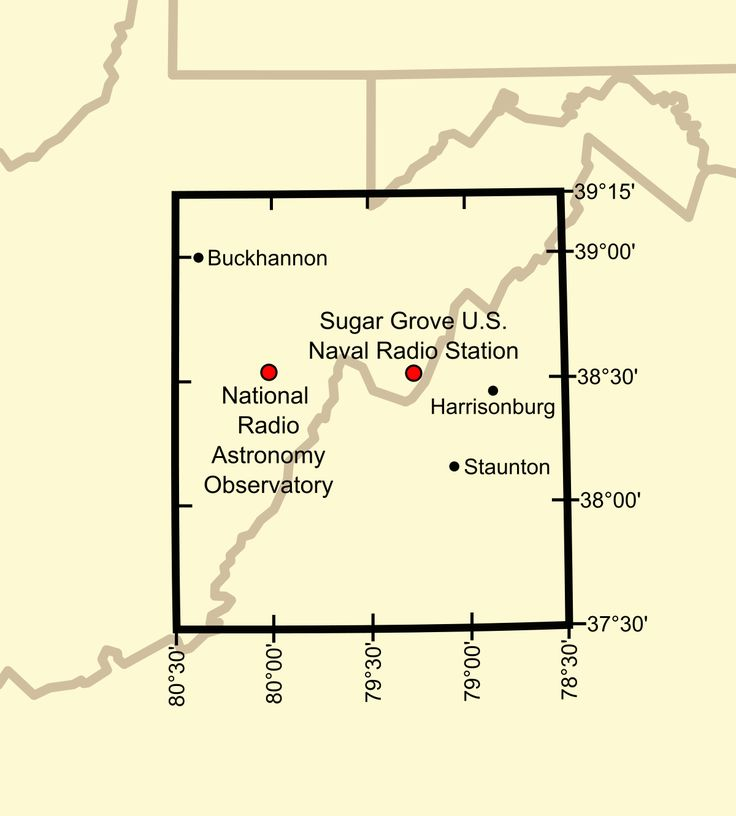 United States National Radio Quiet Zone - Wikipedia | Life in the Quiet Zone: West Virginia Town Avoids Electronics for ScienceNeighbors of giant radio telescope in West Virginia give up wireless gadgets so astronomers can hear the music of the spheres.