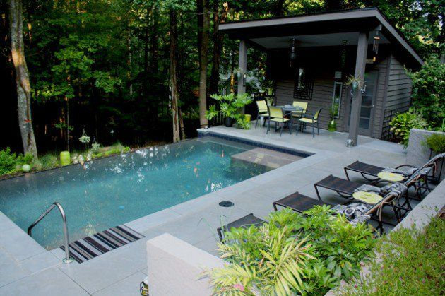28 Fabulous Small Backyard Designs With Swimming Pool: 28 Best Ideas About Pools On Pinterest